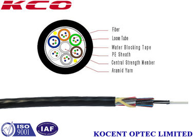 China Outdoor Fiber Optic Patch Cord 4 - 24 Cores With Loose Tube Filling Compound supplier