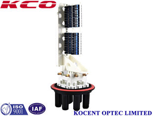China 1 * 64 SC / UPC Fibre Optic Splice Closure PP / ABS Material For City Phone Cables supplier