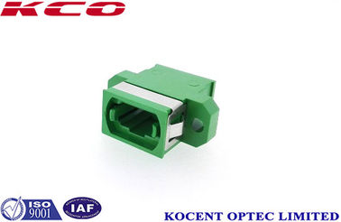 China Single Mode MPO MTP Patch Cord Adaptor With Green Color 1260 ~ 1650nm Wave Length supplier
