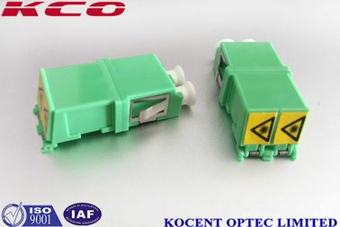 China Single Mode Optical Fiber Adapter Duplex Auto Shutter LC/APC LC/UPC Without Flange supplier