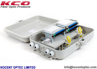 China FDB ODP Fiber Optic Termination Box KCO-ODP-32G Outdoor 1*32 2*32 Wall / Pole Mounting supplier