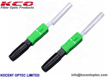 China G652D G657A Field Installable Fiber Optic Connector No Matching Gel Easily Assembled supplier
