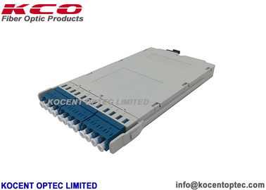 MPO Cassetle Rack Mount Mtp Patch Cord DLC Multimode OM3 OM4 OM5 12 Port Patch Panel