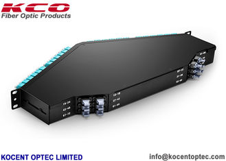 China Strong Strength Single Mode Fiber Patch Cord 144 Core 1U Rack Mount Easy Install supplier