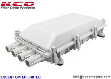 China 4 Cable Ports Joint Closure Fiber Optic 4 Puerto Optica Fibra NAP Box 256 Hilos supplier