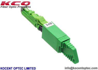 China Plastic Fiber Optic Variable Attenuator E2K UPC Male To Female 1dB 3dB 5dB 7dB 10dB supplier