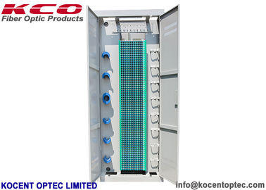 China 19 Inch Fiber Optic Terminal Box Distribution Frame ODF Rack SC UPC APC 720 Cores supplier