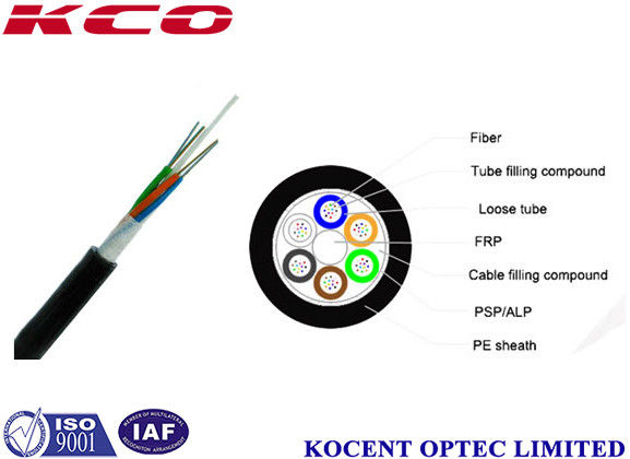 479ab701b6 Non Metallic Direct Burial Optical Fiber Cable G657a1 Telecom Grade 144  Cores