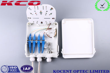 China Outdoor Water Proofing 8 Cores Fiber Optic Splitter Terminal Box FTTH FTTB KCO-FDB-8C distributor