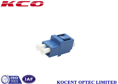 China Fiber Optical Connector Adapters LC / UPC with IEC , Telcordia GR 326 Standard factory