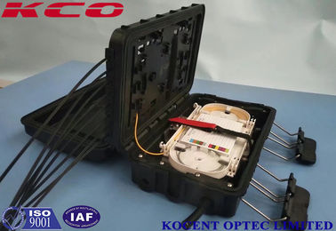 China PP ABS + PC Aerial Fiber Optic Splice Enclosure / Junction Box Enclosure distributor