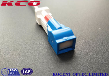 Ultra Low Insertion Loss Fiber Optic Patch Cord LSH SC/UPC Auto Shutter LSZH PVC FTTH