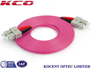 China Duplex / Simplex Fiber Optic Patch Cord , Optical Fiber Patch Cable With FC / PC Connector factory