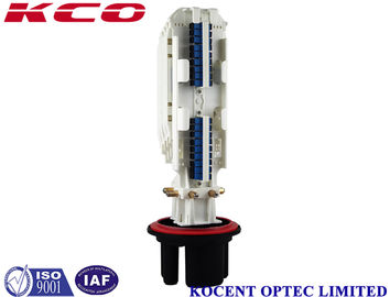 1 * 16 2 * 16 SC DLC Fiber Optic Splice Closure , 1 In 4 Out Fiber Optic Joint Closure