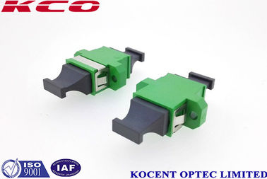China MPO / APC Fiber Optic Cable Adapter Single Mode Simplex High Return Loss factory