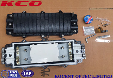 China PC Material IP65 Fiber Optic Splice Closure KCO-H2295 Inline Type 2 In 2 Out 12fo factory