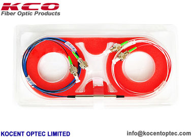 China Single Mode 4 Four Port Fiber Optic Cable Splitter Laser Circulator High Power distributor