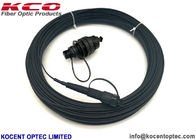Huawei Mini SC APC Connector Fiber Optical Patch Jumper With FTTH Drop Patch Cable