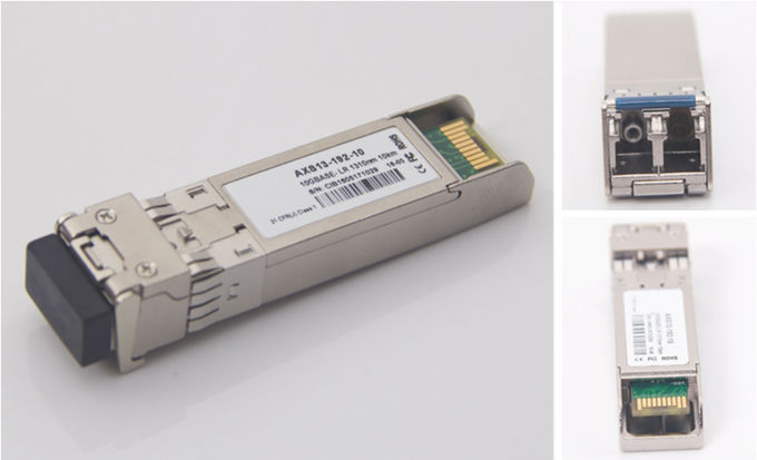 Bidirectional SFP Fiber Optic Transceiver Module 10 Gigabit Single Mode