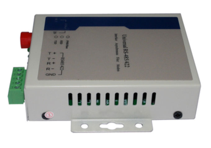 RS232 Fiber Optic Modem , RS422 RS485 Fiber Optic Converter FC UPC